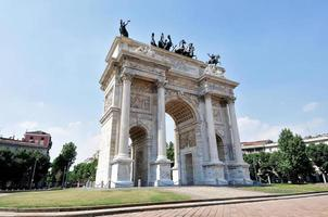 Mailand - Friedensbogen foto