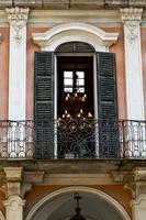 rote terrasse europa italien lombardei in milano alt l foto
