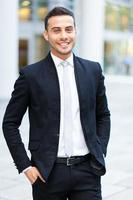 Geschäftsmann Porträt foto