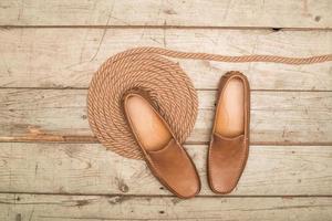Herren Loafer Schuh foto
