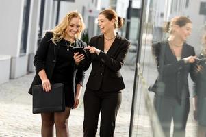 weibliches Businesstalk foto