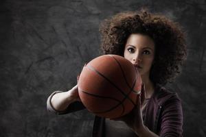 Basketballspielerin foto