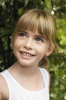 lächelndes Mädchen foto