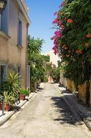 Nachbarschaft in Plaka Bereich, Athen, Griechenland foto