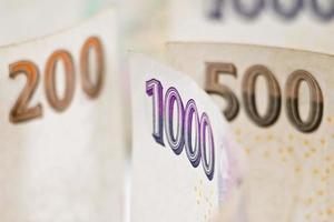 tschechisches Geld foto