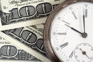 Zeit - Geld foto