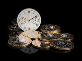 Zeit Geld foto