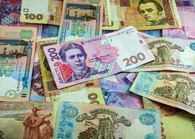 ukrainisches Geld foto