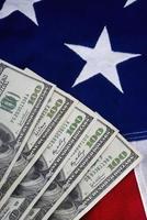 Geld und USA. foto