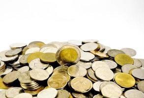 Münzen von Thailand foto