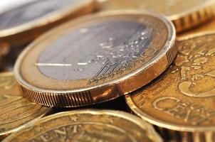 Euro-Münzgeld foto