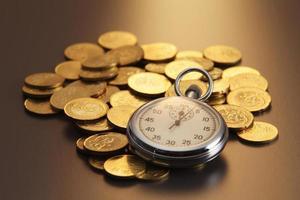 Zeit und Geld foto