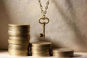 Schlüssel zum Geld foto