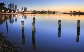 Gelassenheit auf dem Swan River Perth wa foto