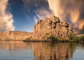 Nil in Ägypten foto