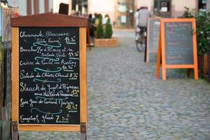 elsässisches Menü foto
