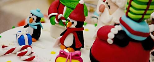 Neujahrs- und Weihnachtskuchen