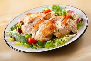 gebratene Hühnerbrust