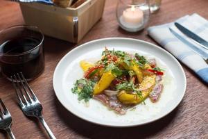 Thunfisch Ceviche foto