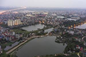 Skyline von Hanoi foto