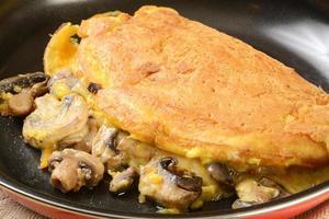 Pilz Omelet foto