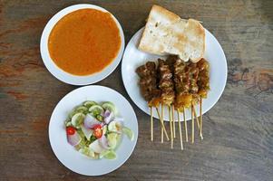 Rindfleisch mit Sauce foto