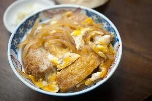 japanische katsudon küche foto