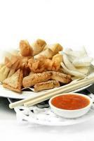 Auswahl chinesischer Speisen ii foto