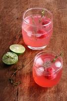 Himbeer-Cocktail foto