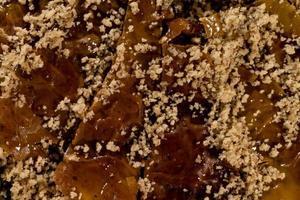 griechische Delikatessen Baklava süße Nahaufnahme foto