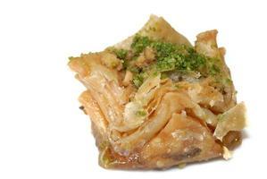 Ost Süßigkeiten Baklava isoliert foto