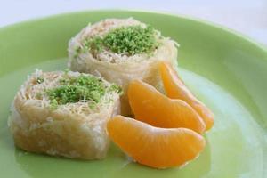 Das köstlichste türkische Dessert: Baklava foto