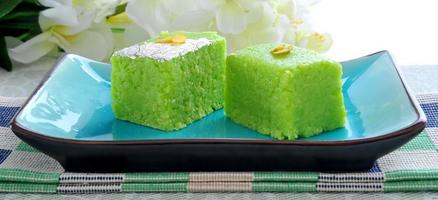 grüne Kokosnuss Barfi-3 foto