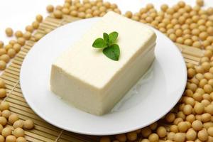 japanisches Essen Tofu foto