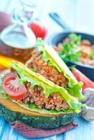 frischer Taco foto