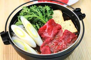 Sukiyaki foto
