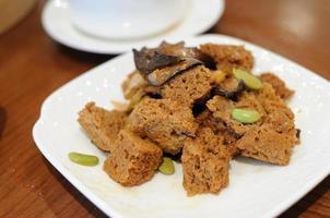 Vorspeise Cow-Fu (Weizengluten) foto