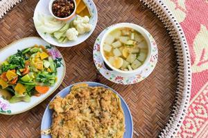Abendessen Gerichte foto
