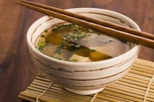 japanische Miso-Suppe