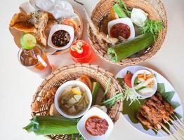 Bali traditionelles Essen foto