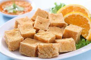 gebratener Tofu foto