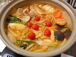 Kimchi Pfanne foto