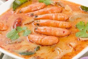 tom yum nam khon (ต้มยำ น้ำ ข้น)