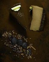 Schokoladenkäsekuchen foto