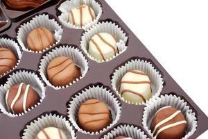 Schokoladentrüffel foto