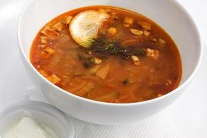 russische Küche foto