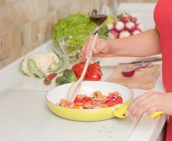 Prozess des Kochens