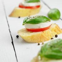 Caprese-Sandwiches foto