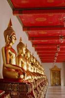 Buddha Bild in Wat Pho foto