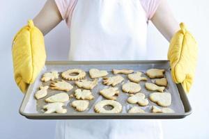frisch gebackene Kekse